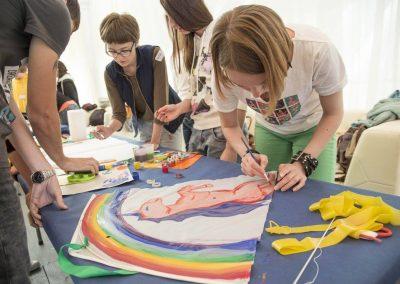 Творческий тимбилдинг «ФЕСТИВАЛЬ ВОЗДУШНОГО ЗМЕЯ» для «Международный Альянс по ВИЧ/СПИД в Украине»