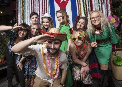 Фееричная новогодняя вечеринка «Cuba Libre!» для компании «Alliance for Public Health»