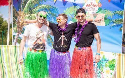 Aloha Hawaii для потрясающей команды «Johnson & Johnson»